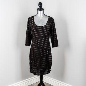 NWOT Max Studio pin hole dress - M